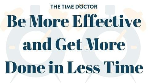 Be More Effective and Get More Done in Less Time – Free 7 Lesson Course