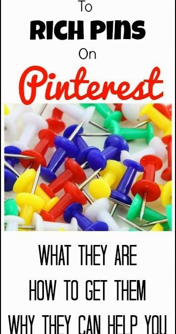 How to use Rich Pins on Pinterest